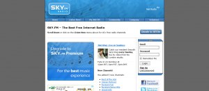 SKY.FM Radio  Enjoy amazing Free Internet Radio stations